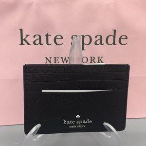 Kate Spade Small Slim Card Hold Joeley Black